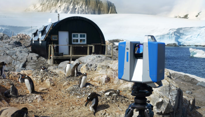 3D Survey in Antarctica: Historical Preservation in Challenging Conditions